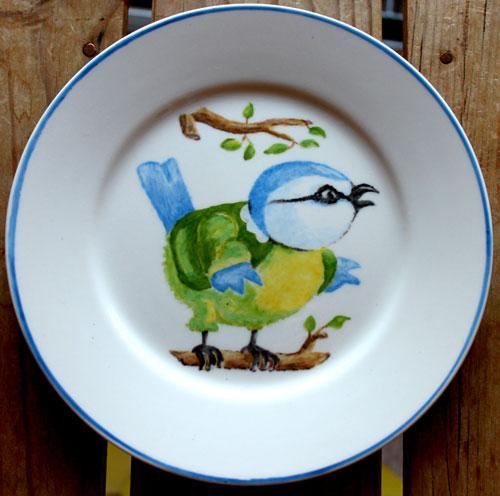 Création des élèves de l'Atelier de la Porcelaine de Marie Maloux