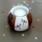 L'Atelier de la Porcelaine, petit pot libellules