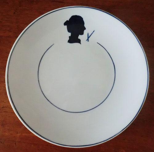 """Création de Marie Maloux, collection """"les profils"""", l'Atelier de la Porcelaine, Paris"""